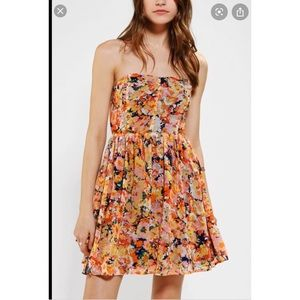 Urban Outfitters Lucca Couture Floral Dress